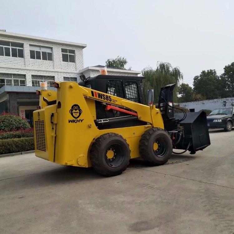 滑移装载机   滑移装载机式清扫机 福威重工品牌
