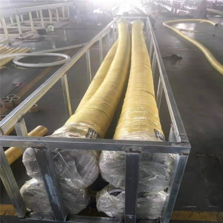 弘创供应耐高温大口径钢丝输水胶管  法兰式大口径输水胶管厂家直销