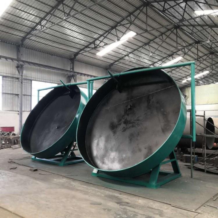 厂家现货生物有机肥生产线 猪粪圆盘造粒机 有机肥复合肥成球盘