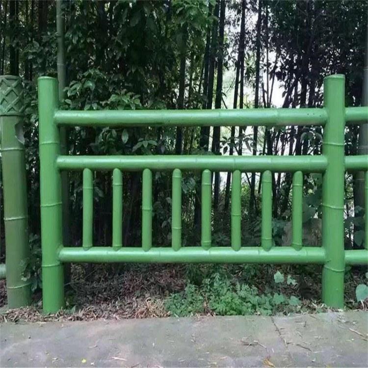 厂家供应优质   不锈钢围栏  不锈钢仿竹篱笆护栏 草坪仿竹管围栏 价格优惠