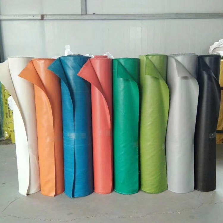 铭飞 耐高温防火布 三防布 阻燃软包布 玻璃纤维布 灰色硅胶布