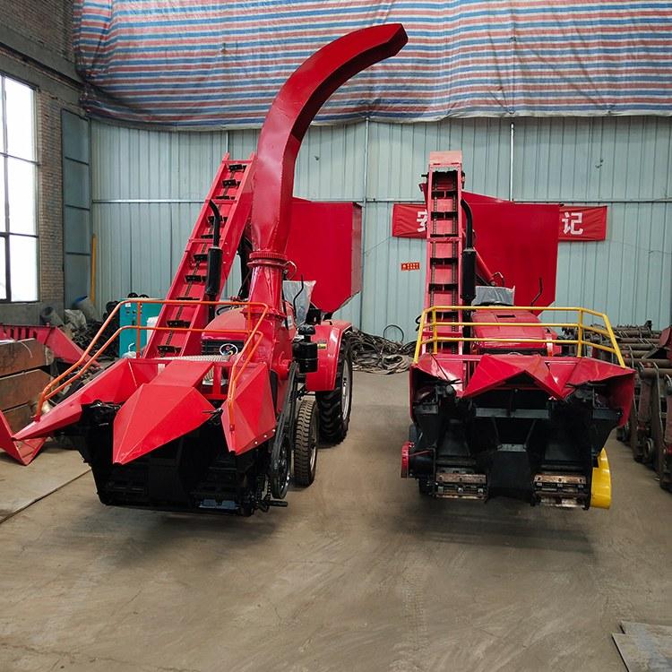 玉米秸秆粉碎收割机 大型青储机 青贮饲料苞米收割机