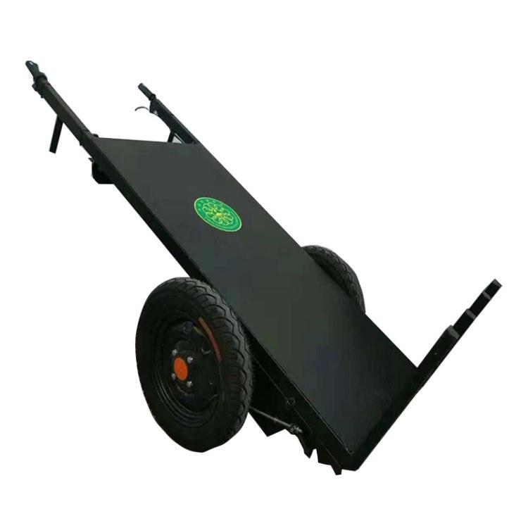协丰机械 电动手推车厂家 工地运输电动小推车 工地电动平板车 电动平板拉砖车价格
