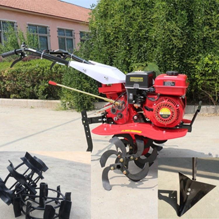 富强 手推式汽油耕地机 小型快速微耕机 手扶式开沟培土机