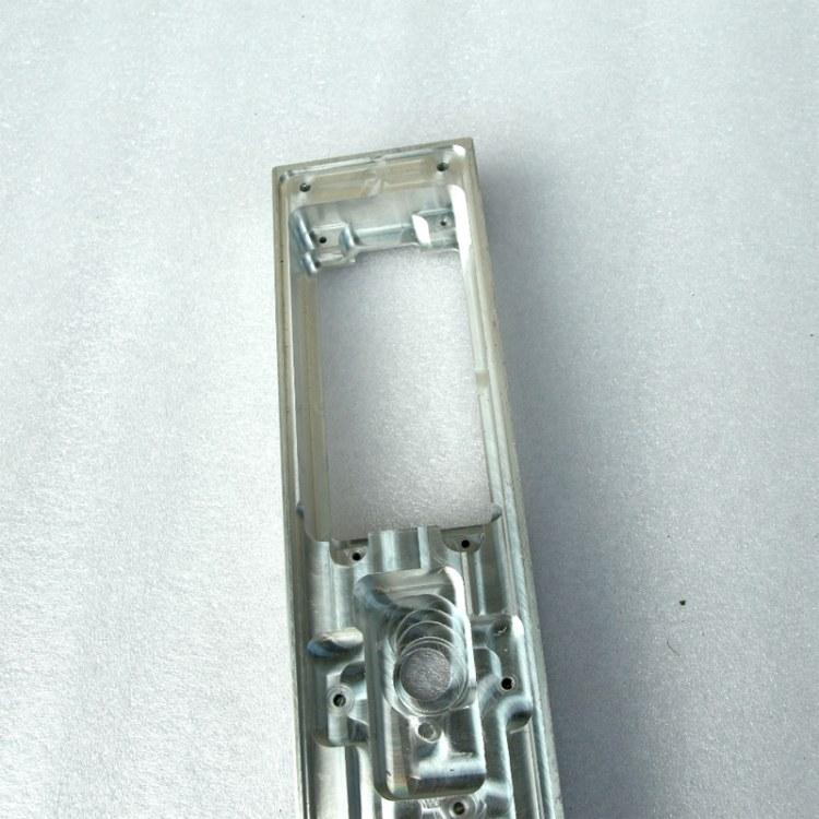 厂家定制指纹锁铝外壳 人脸指纹锁 安全锁外壳 显示屏铝合金外壳