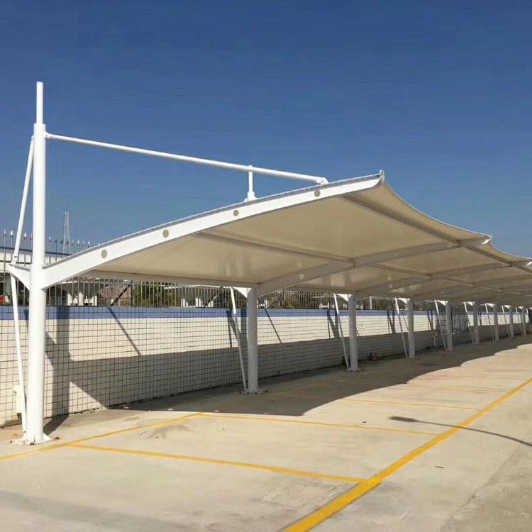 胜欧膜结构 车篷 停车篷 膜材厂家 膜材批发 膜结构公司