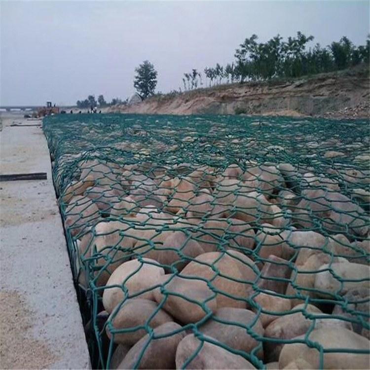 格宾网直销 河道护坡雷诺护垫 镀锌铅丝石笼 厂家安装配件