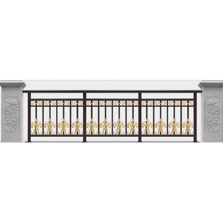 遵义铝艺栏杆 贵阳铝艺栏杆定制价格 万马金甲门业厂家设计直销