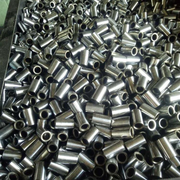 厂家 供应非标套筒冷挤压  钢筋连接套筒批发
