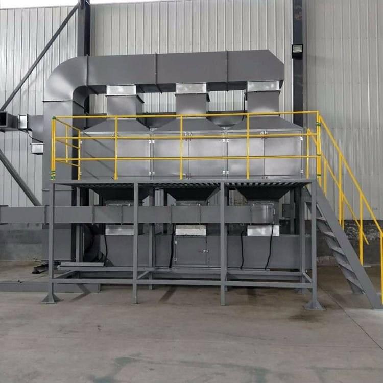 盛远环保厂家直销新型rco催化燃烧设备橡胶废气净化处理设备工业废气净化催化燃烧炉空气拼装结构坚固耐用