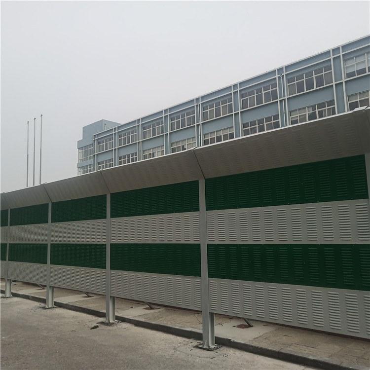 盛迈亿 高架桥声屏障  隔音板金属百叶孔隔音墙   材质齐全  工厂直供