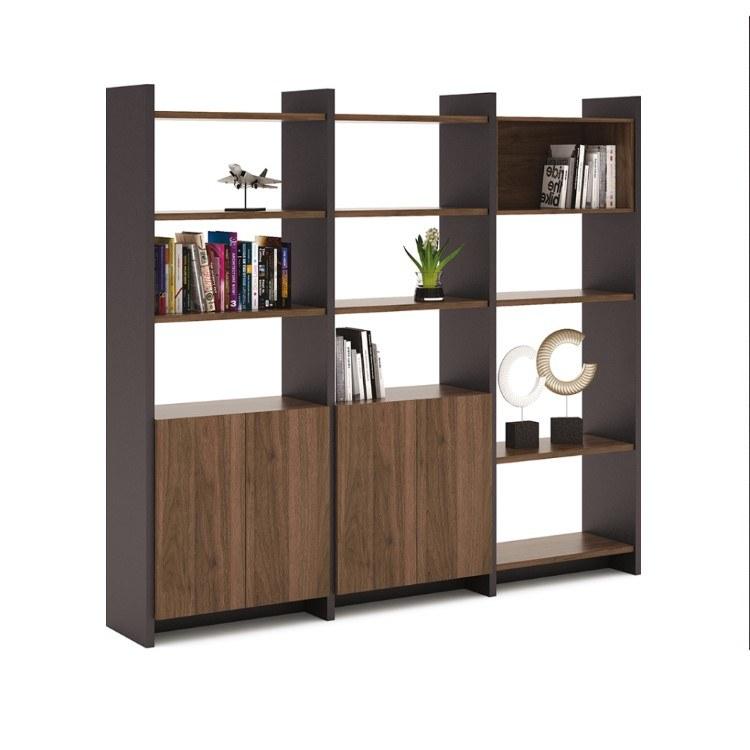 公司文件柜 办公文件柜资料柜储物档案柜木质高柜老板室书柜家具 伟之豪