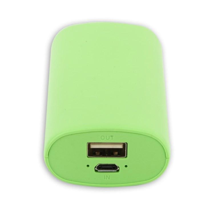 移动电源厂家生产 5200mAh充电宝 圆柱移动电源 礼品充电宝定制 单USB口输出5v1A