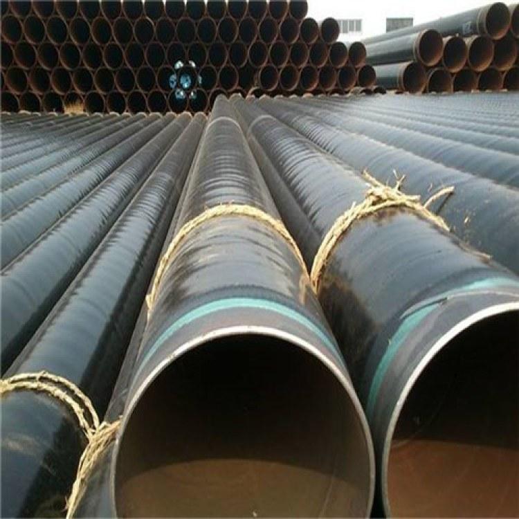 包覆式3pe防腐钢管 3pe加强级防腐钢管优质性能 广浩管件生产
