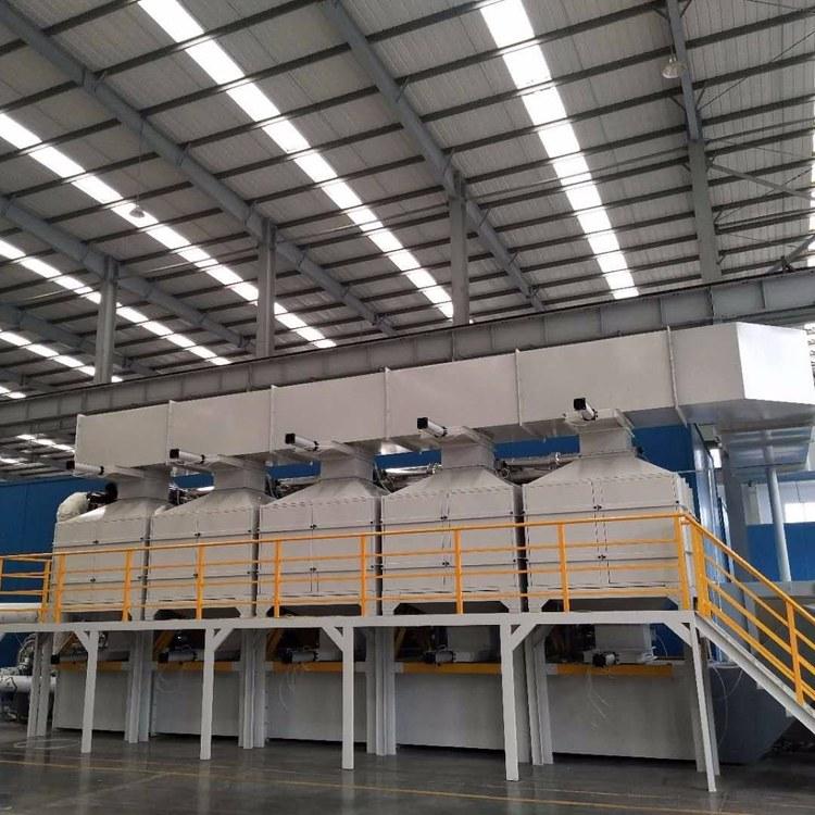 荣信喷漆房有机废气 专业处理催化燃烧设备 有机废气VOCs处理设备