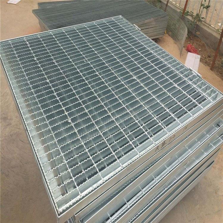 钢格板 实体厂家 Q235齿形钢格栅板 钢梯踏步板 量大优惠