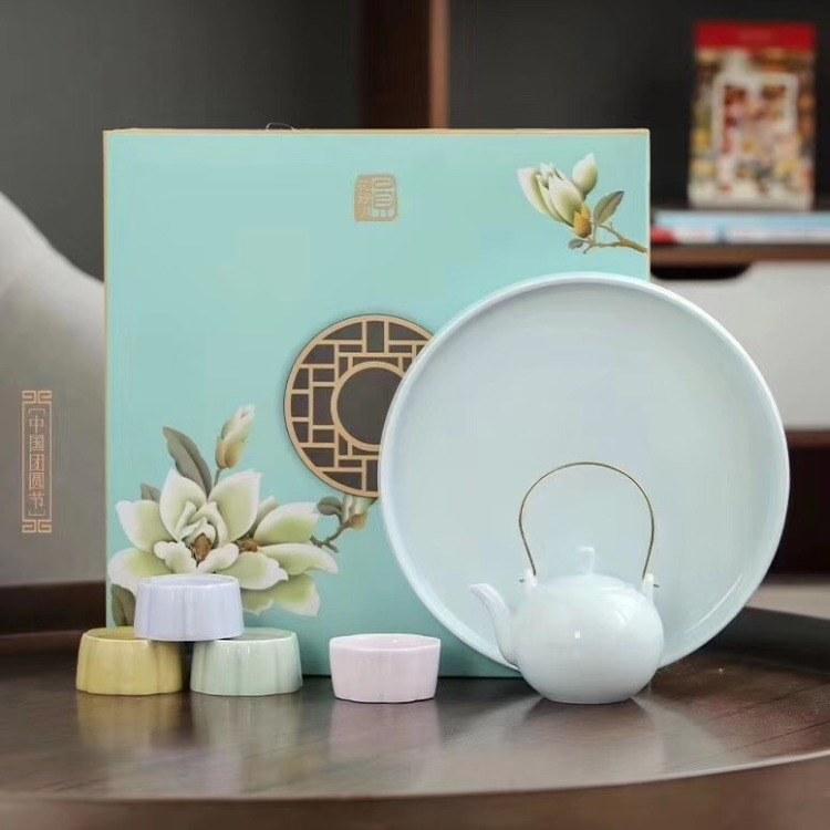 上海公司文创礼品会议礼品定制 茶具礼品套装 天瑞