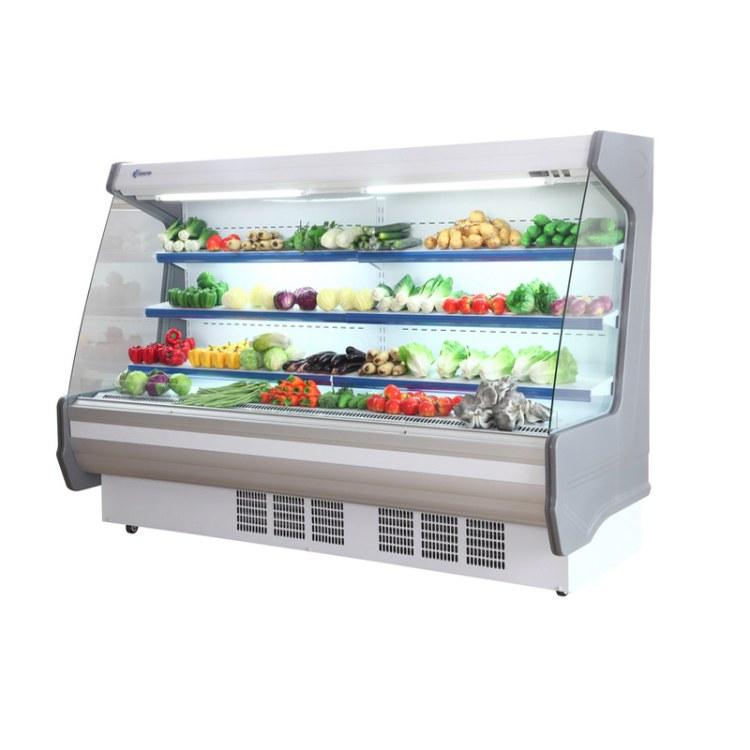水果冷柜批发 水果保鲜柜 水果展示柜 水果陈列柜 水果冷藏柜展示柜 超市水果冷藏柜价格