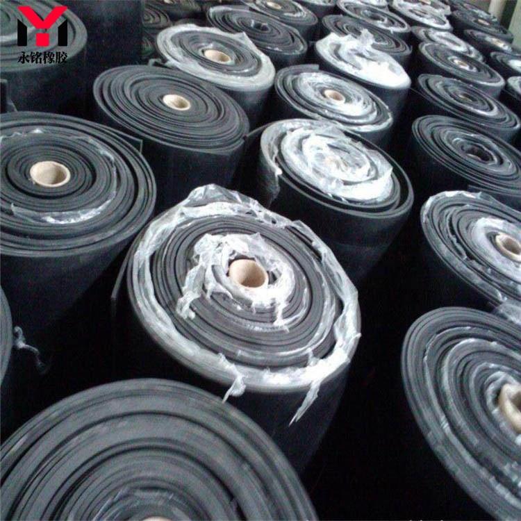 厂家直销绝缘减震橡胶板 防滑耐油橡胶板 支持定制