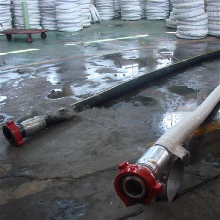 河北弘创专销油田专用钻探胶管 钢丝编织钻探胶管 加工定制