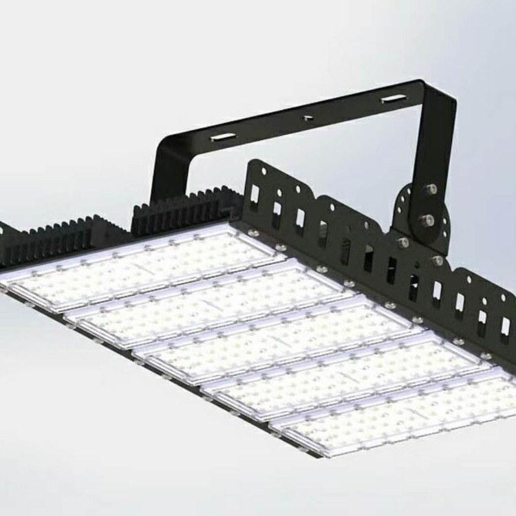 鳍片投光灯|四川250W可调角度模组投光灯|贴片式led隧道灯