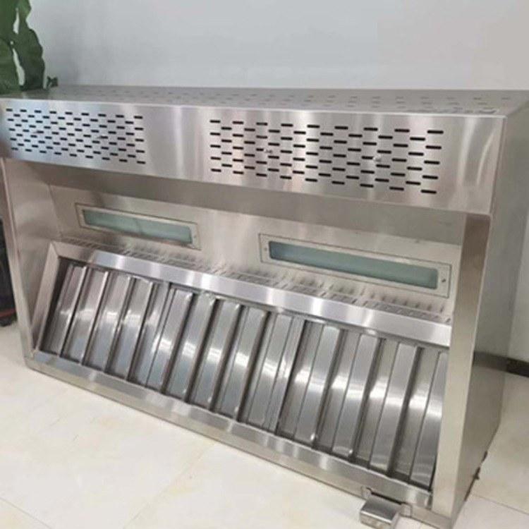 北京金盈质厨厂家定制油烟净化器 油烟净化一体机  中沥板双星水池  远红外消毒柜  右沥板单星水池