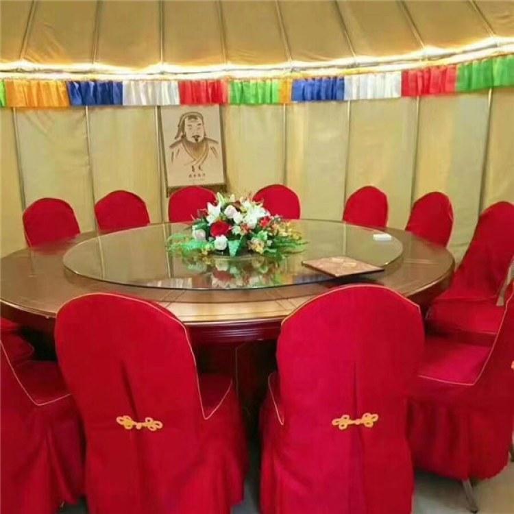 厂家热卖竹艺餐饮住宿蒙古包 农家乐景区蒙古包帐篷批发