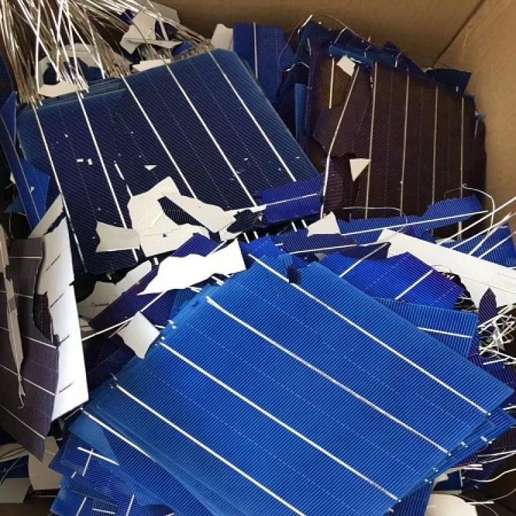 宜兴太阳能多晶电池片回收 多晶A/B/C/片大量采购厂家上门报价 聚纳光伏