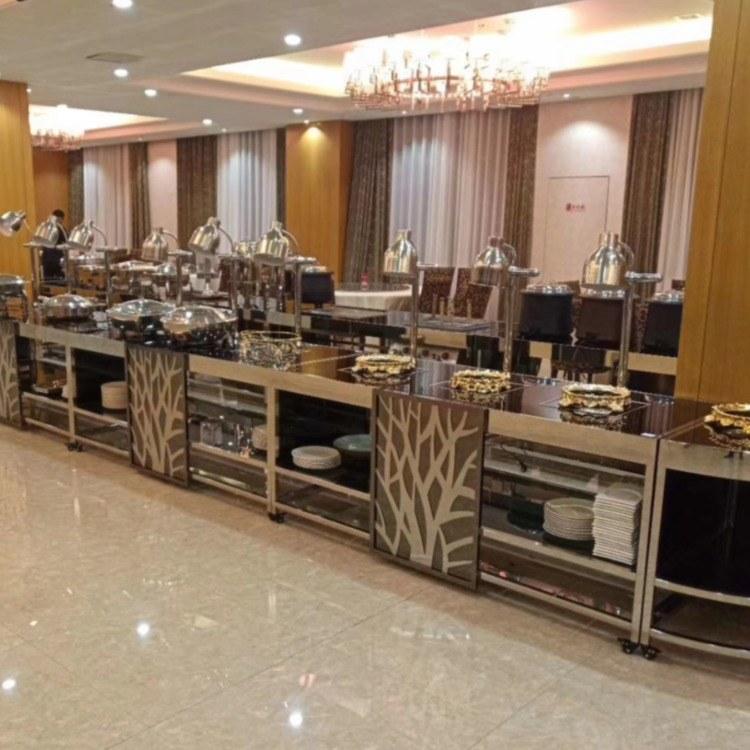 广州尊尚厂家直销 布菲台 组合布菲台 酒店自助餐台