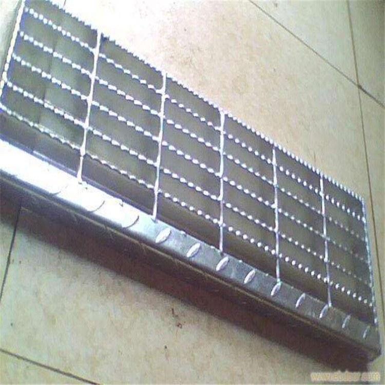 定制加工 防滑钢格栅板 地沟盖板格栅 钢格栅踏板