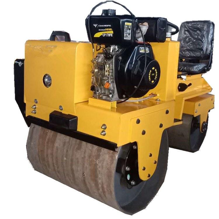 一诺机械座驾式压路机  SY-850c双钢轮座驾式汽油压路机 小型压实机