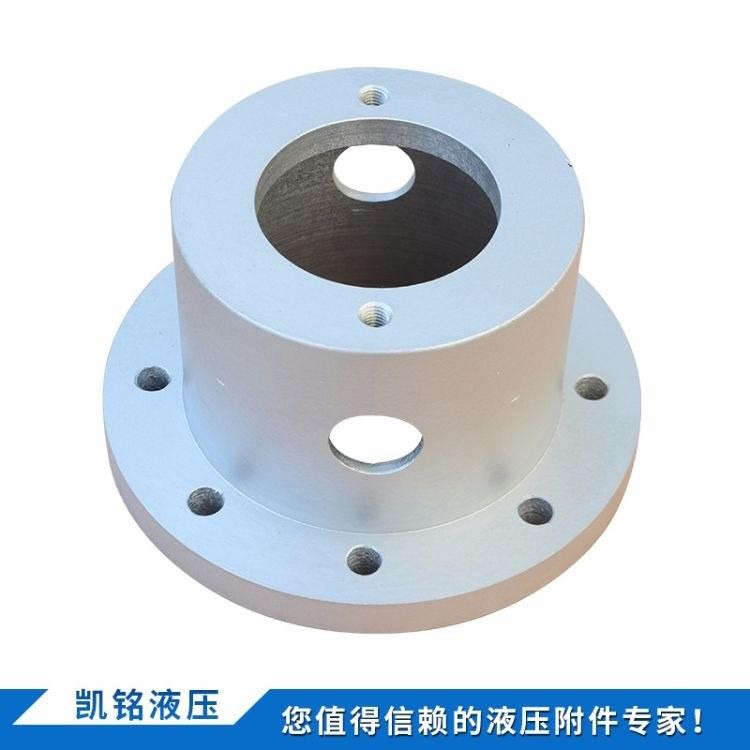 凯铭机械 泵支架 高品质泵套 铸铁钟形罩 液压系统配件 多种规格