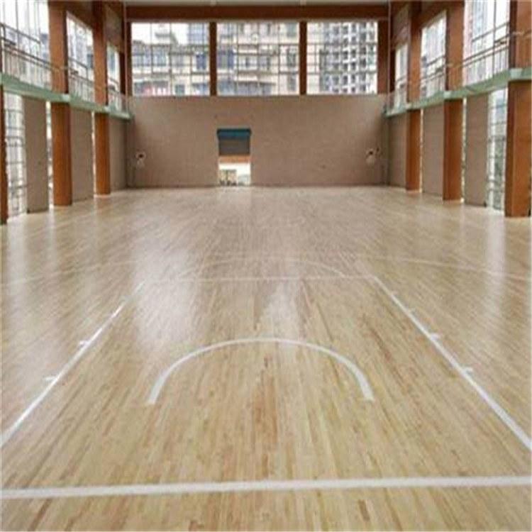 羽毛球运动木地板 篮球场运动地板厂家直销