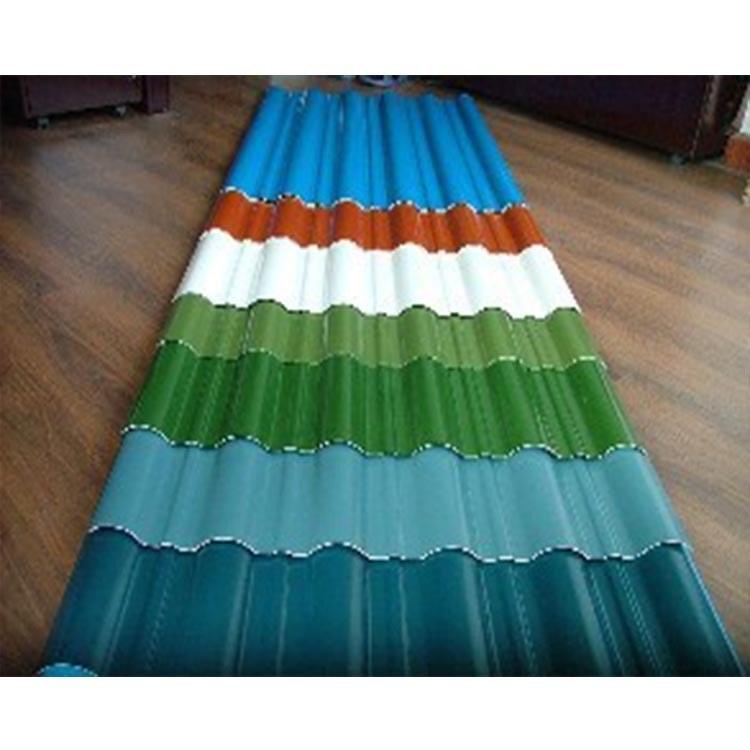 河南鑫纵厂家直销  彩钢板价格  波浪板 屋顶彩钢板批发