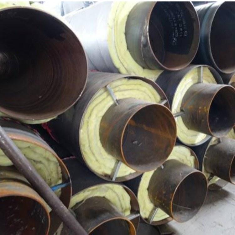 新乐市供应聚氨酯直埋保温管 预制直埋保温管厂家 聚氨酯直埋保温管