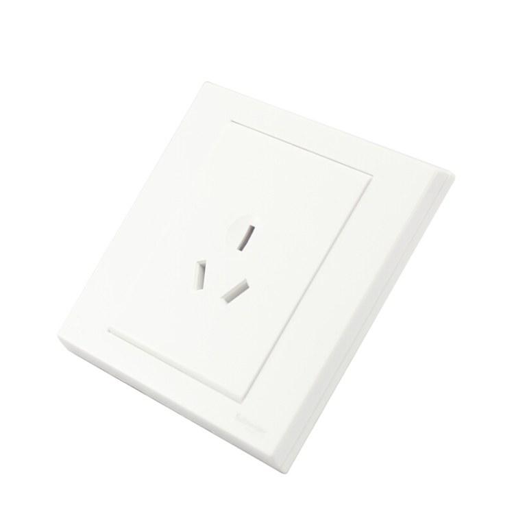 施耐德电气 面板开关 家用开关插座面板 如意系列 三孔16A 施耐德电气批发零售