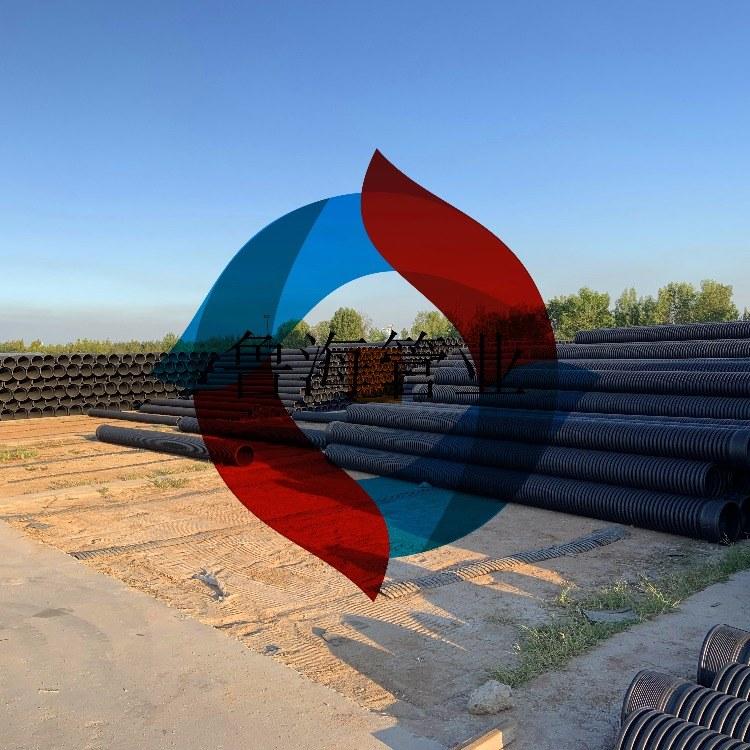 山东烟台威海日照青岛济宁聚乙烯HDPE双壁波纹管HDPE波纹管排水排污管*
