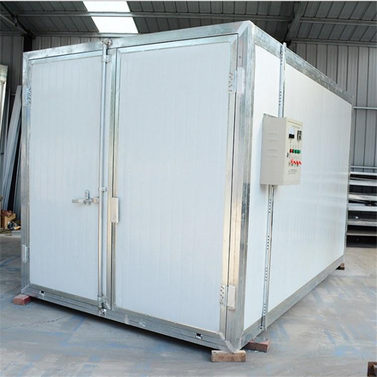 鸿运捷 供应固化房高温烤箱 工业烤箱烘干房烤漆房 高温喷塑房