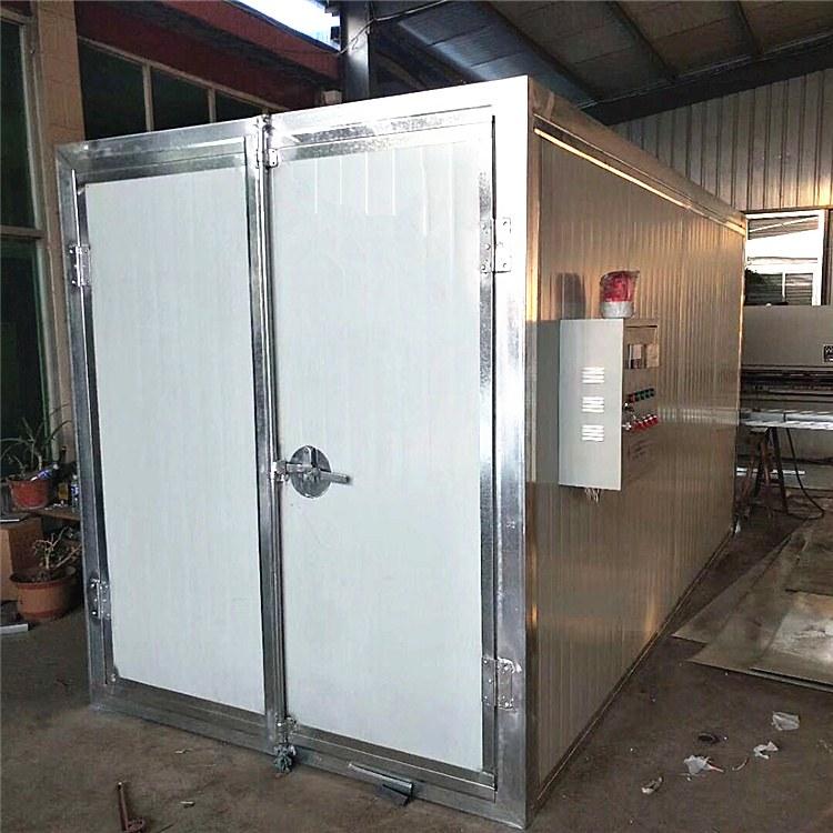 鸿运捷 |厂家销售环保型高温烤漆房 高温喷塑房 支持定制