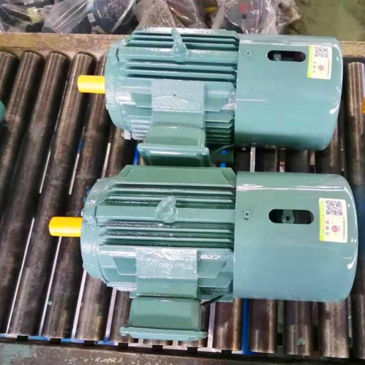 厂家直销 江苏高科 1.1KW制动电机 YEJ2-80M2-2极 刹车电机 电磁制动三相异步电动机