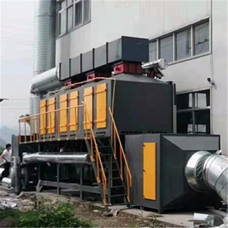 翔鸣环保催化燃烧设备 VOCs废气处理设备 印刷行业喷漆房活性炭吸附脱附装置