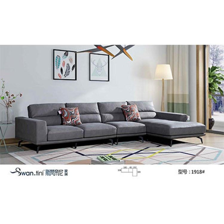 四川成都斯梵帝尼家用客厅 高端沙发设计定制 -客厅办公软体沙发组合