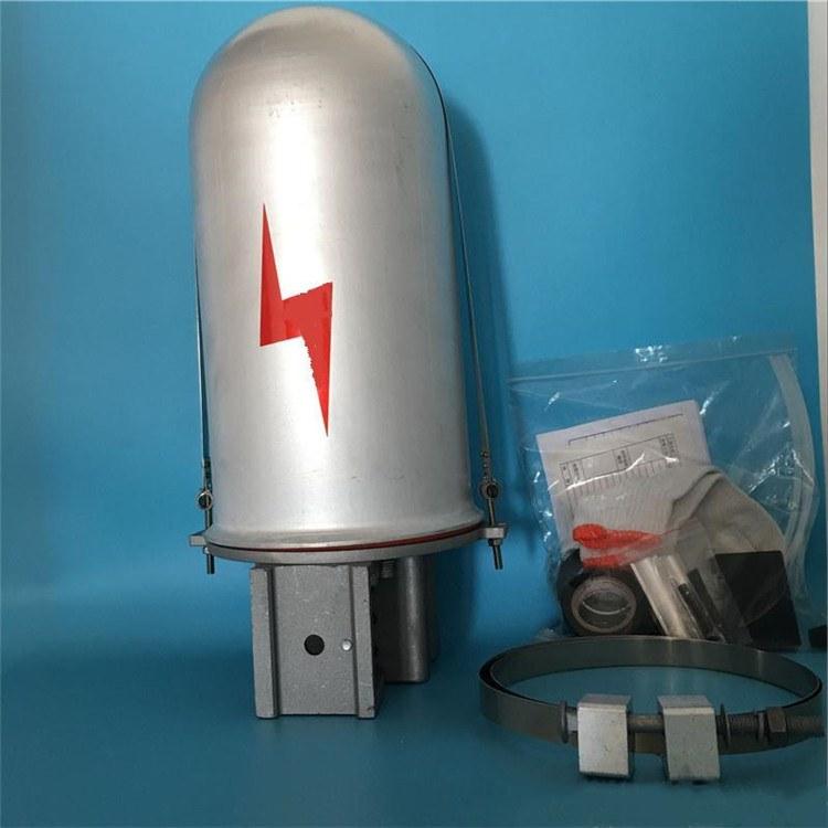 山东莱芜电力器材公司批发帽式接续金具 铝合金接头盒 绝缘子 富华厂家