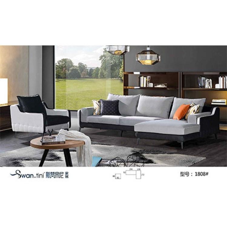 现代创意会客商用沙发厂家推荐 沙发定制价格. 成都斯梵帝尼  .