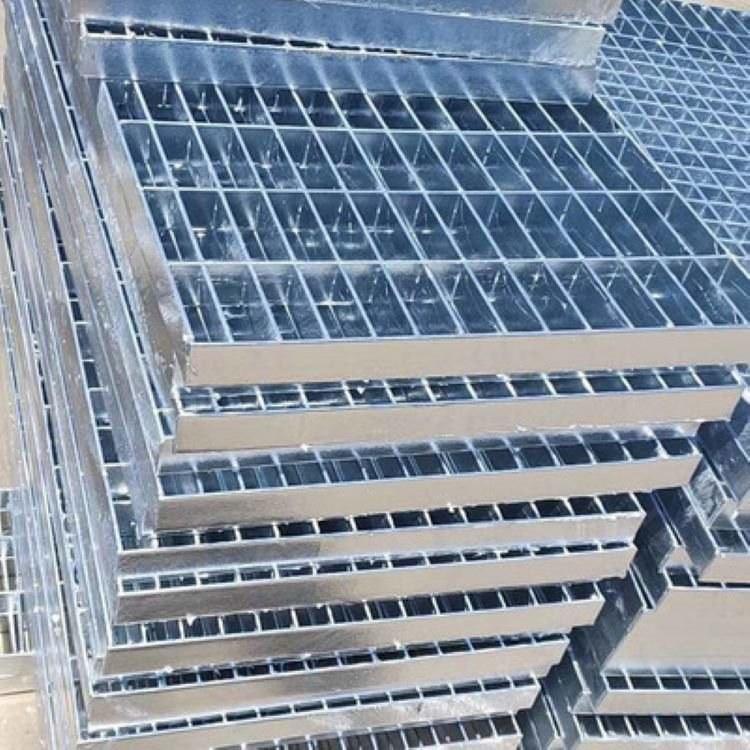 精华钢格板厂家直销 镀锌钢格栅 雨水沟盖板 不锈钢雨水盖板