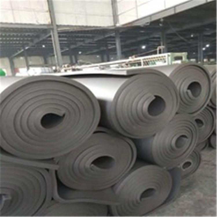 批发供应阻燃隔热橡塑保温板隔热减震橡塑板