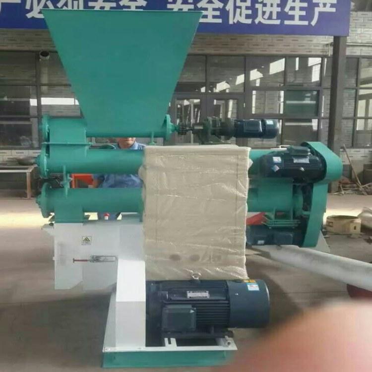 定制猫砂颗粒机设备来山东绿尚专业颗粒机厂家