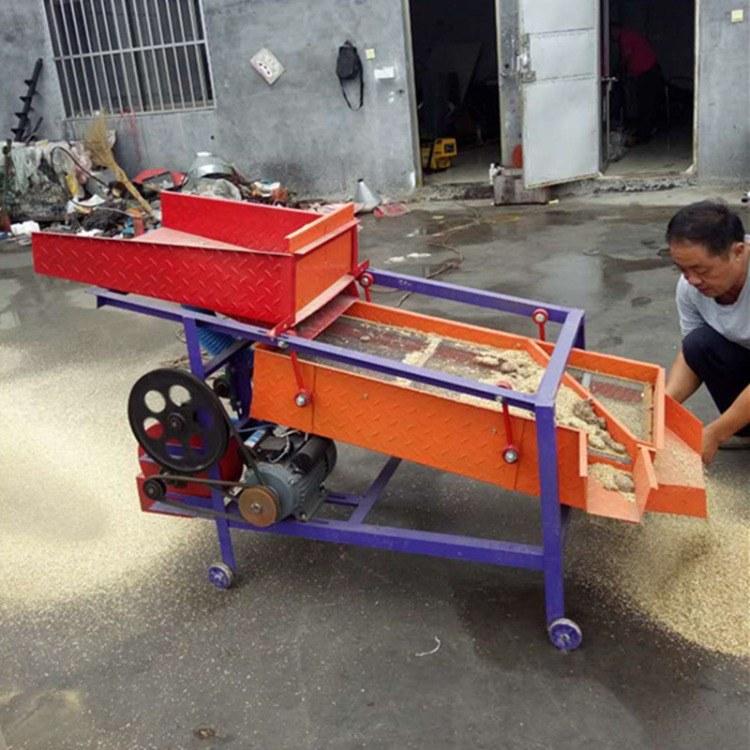 富强 高粱筛沙去石机 水稻筛选去石机 小麦玉米筛选机