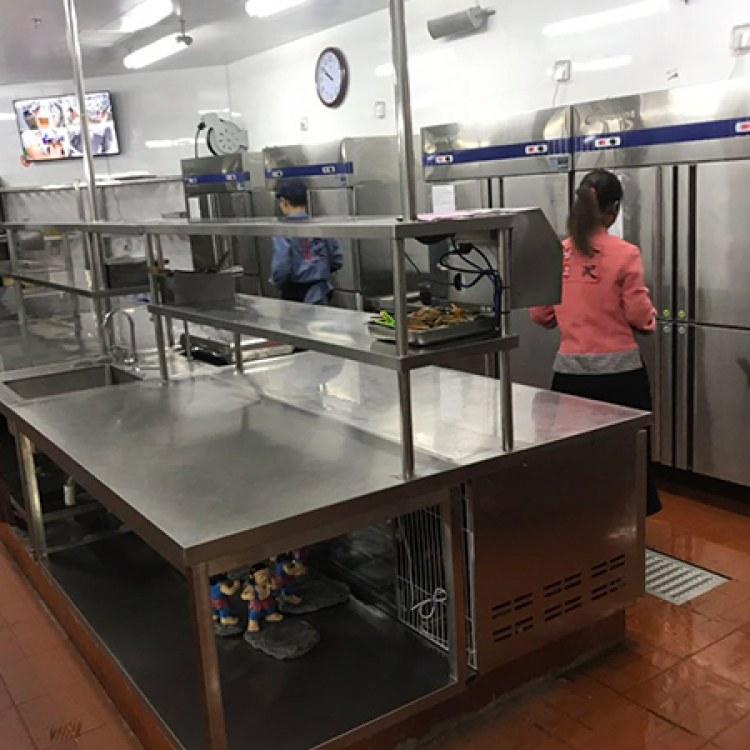合肥酒店不锈钢厨具厂家直销 不锈钢整体厨具价格