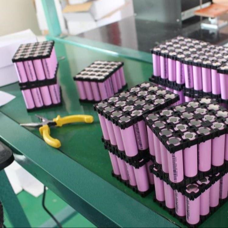专业回收锂电池 1865电芯 电动车电池